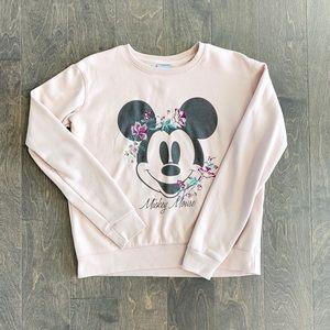 Cotton On Disney Mickey Mouse Pink Sweatshirt